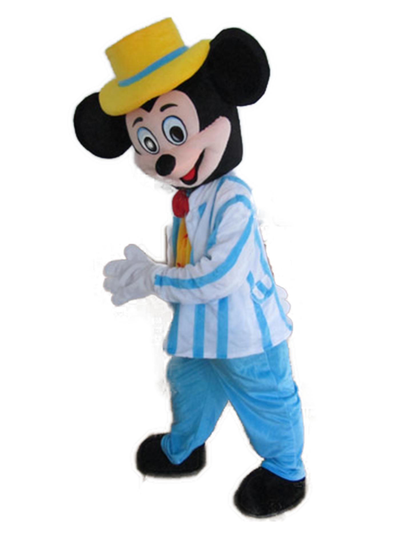 nuovo elenco consegna veloce scarpe da ginnastica a buon mercato Mascotte Topolino Disney - Costume Topolino blu