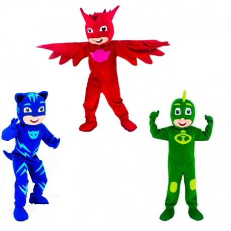 Mascotte Pjmask Offerta Trio
