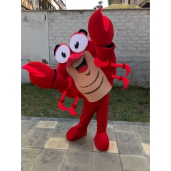 Custom Mascotte Crab