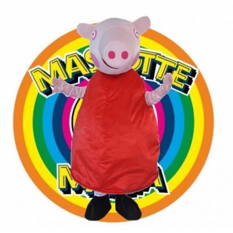 Mascot Costume Peppa Pig