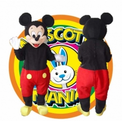 Mascot Costume Old Mickey Mouse - Super Deluxe