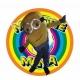 Mascot Costume Minion 2 eyes - Despicable me