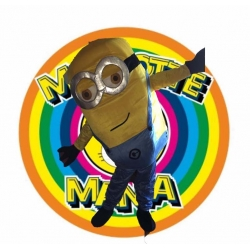Mascot Costume Minion 2 eyes - Despicable me