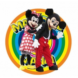 Mascot Costume n° 28 - Mickey and Minnie Mouse Classic