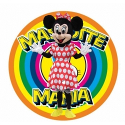 Mascot Costume Minnie Mouse Classic