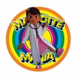 Mascot Costume Dottie Doc Mcstuffins - Super Deluxe