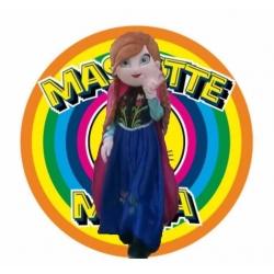 Mascotte Anna Frozen