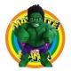 Mascot Costume Hulk - Super Deluxe