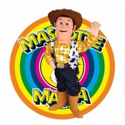 Mascot Costume Woody - Super Deluxe
