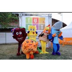 Mascotte costume personalizzato Alimenti comune di Roma Mascottemania