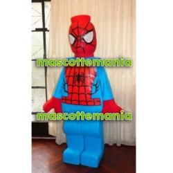Mascot Costume Lego Spiderman - Super Deluxe
