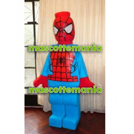 Mascot Costume Lego Spiderman - Super Deluxe