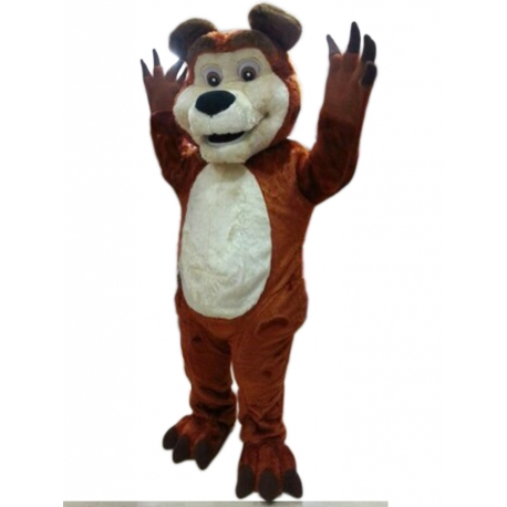 Mascot Costume Bear - Super Deluxe