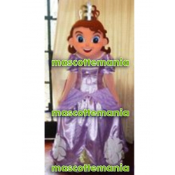 Mascot Costume Princess Sofia - Super Deluxe