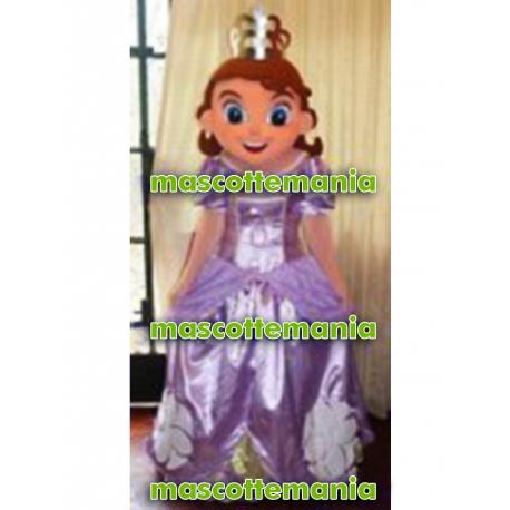 Mascot Costume Princess Sofia - Super Deluxe