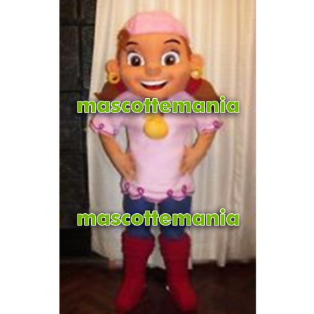 Mascot Costume Izzy - Super Deluxe
