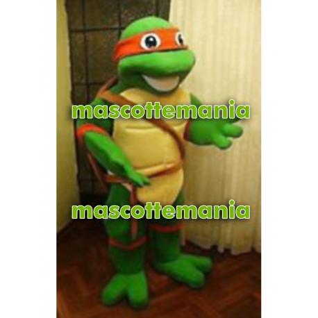 Mascotte Tartaruga Ninja - Super Deluxe