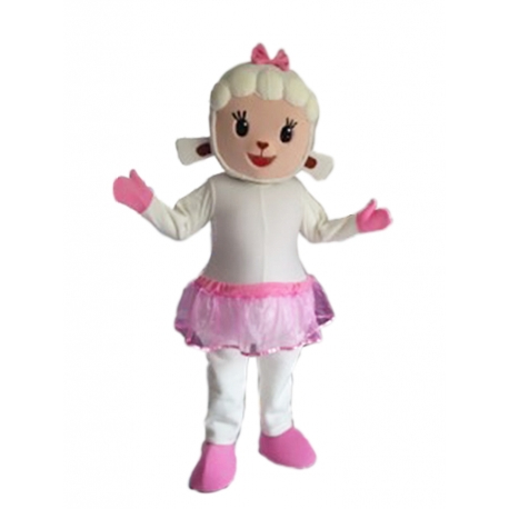 Mascot Costume Little Lambie - Super Deluxe
