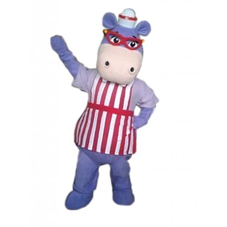 Mascot Costume Hallie - Super Deluxe