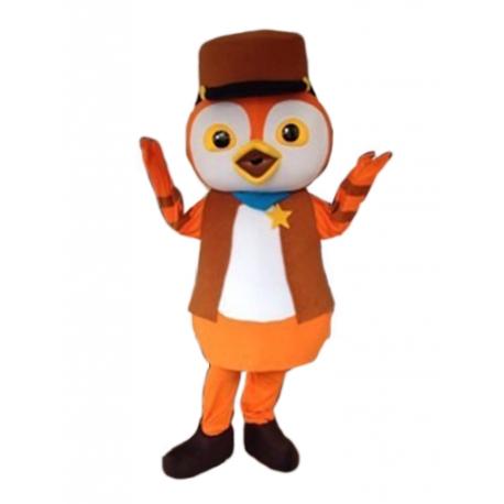 Mascot Costume Deputy Peck - Super Deluxe