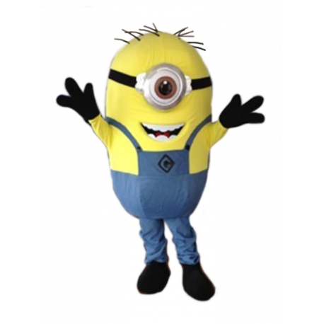 Mascot Costume Minion 1 eyes - Super Deluxe