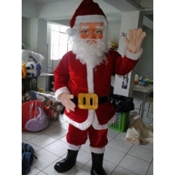 Mascot Costume Santa Claus - Super Deluxe
