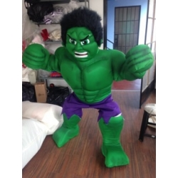Mascotte Hulk - Super Deluxe