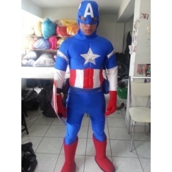 Mascot Costume Captain - Super Deluxe