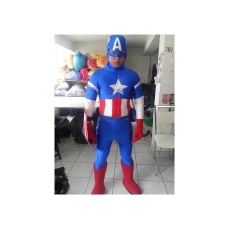 Mascot Costume Capitan America - Super Deluxe