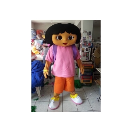Mascot Costume Dora the Explorer - Super Deluxe