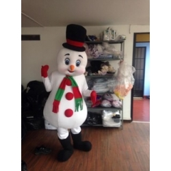 Mascot Snowman - Super Deluxe