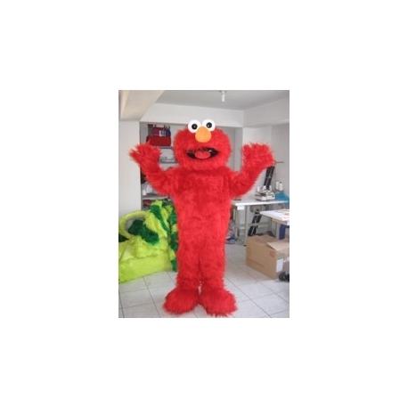 Mascot Costume Elmo - Super Deluxe