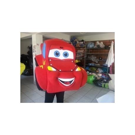 Mascot Costume Lightning McQueen - Super Deluxe