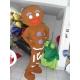 Mascot Costume Zenzy (Biscuit gingerbread) - Super Deluxe