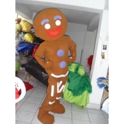Mascot Costume Zenzy (Biscuit gingerbread) - Super Deluxe