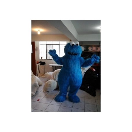 Mascot Costume Cookie Monster - Super Deluxe