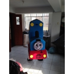 Mascot Costume Thomas Train - Super Deluxe