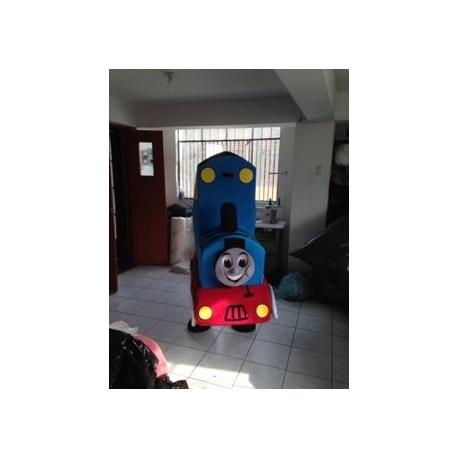 Mascot Costume Thomas Train - Super Deluxe