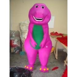 Mascot Costume Barney - Super Deluxe