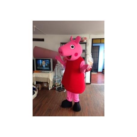 Mascot Costume Peppa Pig - Super Deluxe