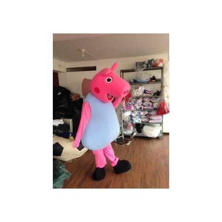 Mascot Costume George (Peppa Pig) - Super Deluxe