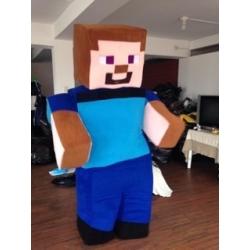 Mascot Costume Steve - Super Deluxe