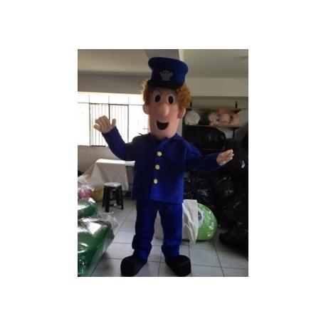 Mascot Costume Postman Pat - Super Deluxe