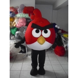 Mascot Costume Red - Angry Birds - Super Deluxe