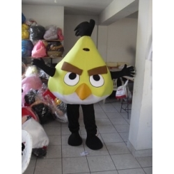 Mascot Costume Chuck - Angry Birds - Super Deluxe