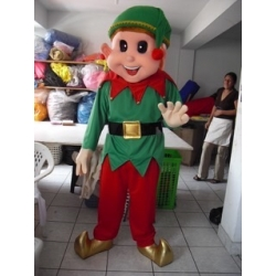 Mascot Costume Elf - Super Deluxe