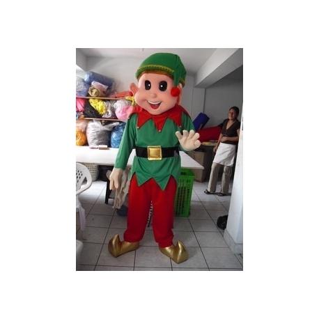 Mascot Costume Elf - Super Deluxe