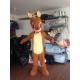 Mascotte Rudolph naso rosso - Super Deluxe