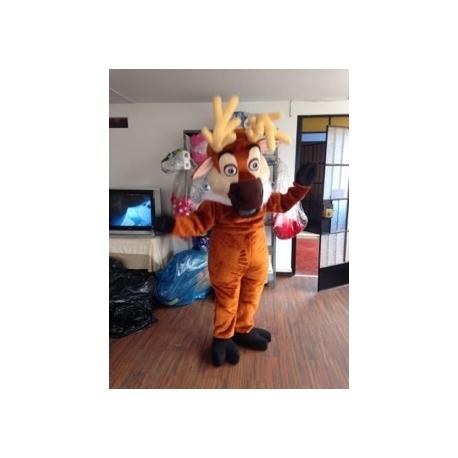 Mascot Costume Reindeer - Super Deluxe