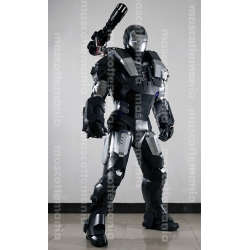 Mascot Costume Iron man War Machine - Super Deluxe